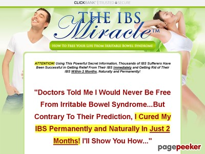 The IBS Miracle TM- How To Free Your Life From Irritable Bowel Syndrom...