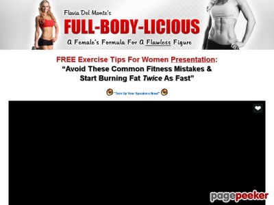 Flavia Del Monte's Weight Loss and Fitness For Women - Get A Flawless ...
