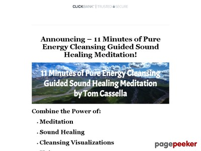11 Minutes Of Pure Energy Cleansing Guided Sound Healing Meditation