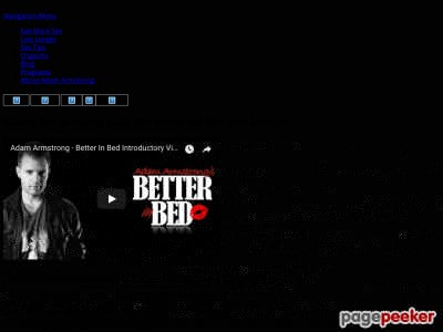 Better In Bed By Adam Armstrong