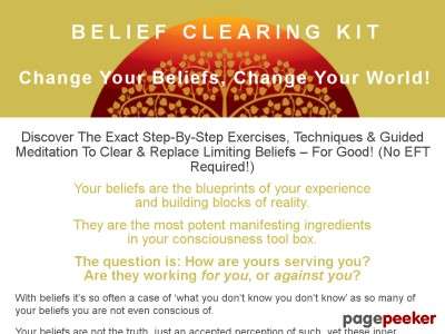 Belief Clearing Kit – Change Your Beliefs, Change Your World!