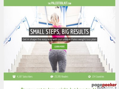PALEO QUICK-START PROGRAM — Small Steps, BIG Results
