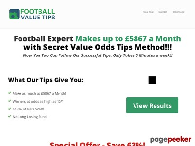 Football Value Tips | Profitable Football Betting Predictions