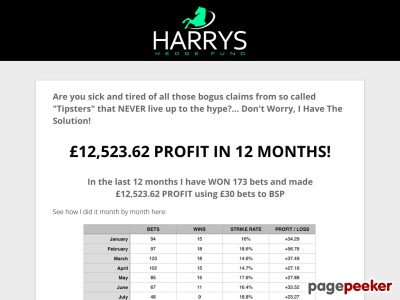 Harrys Hedge Fund
