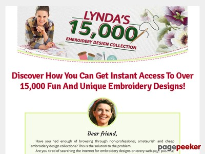 Linda's 15.000 Embroidery Designs