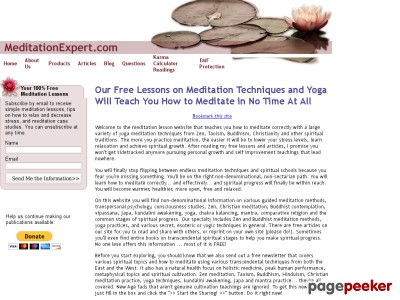 Meditation techniques and guided lessons that teach you how to meditat...