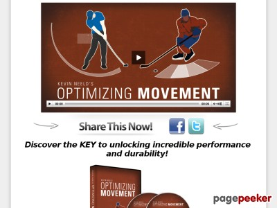 Optimizing Movement: The Key to Unlocking Incredible Performance and D...