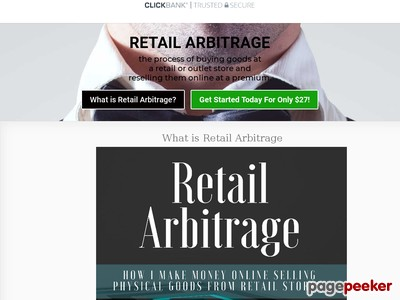 Retail Arbitrage - How I Make Money Online Selling Physical Goods |