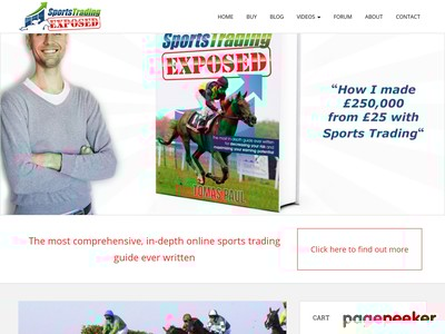 """""""Sports Trading Exposed"""" is now available! - Sports Trading ..."""