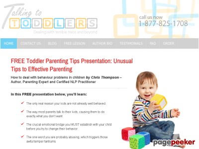 Talking to Toddlers: Dealing with the Terrible Twos and Beyond (home) ...