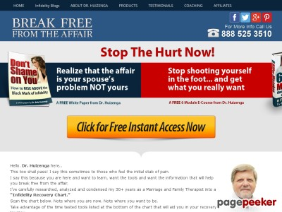 Clickbank: Break Free From the Affair | Break Free from the Affair