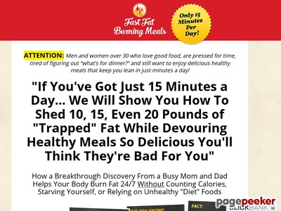 Fast Fat Burning Meals