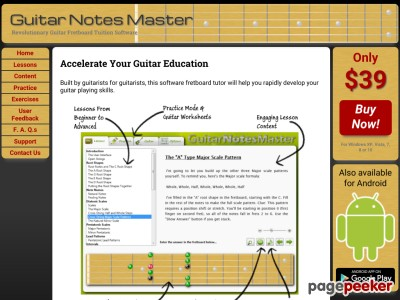 Guitar Notes Master - Home