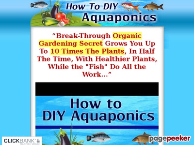 How To DIY Aquaponics - The How To  DIY Guide on Building Your Very Ow...