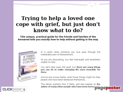How To Help With Grief - If There's Anything I Can Do-How to help the ...