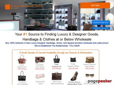 Luxury Designer Wholesale  - Designer Handbags and more Below Wholesal...