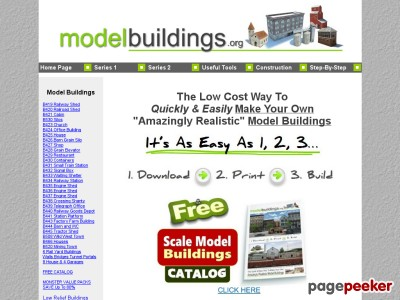 Railroad Model Buildings - Home Page