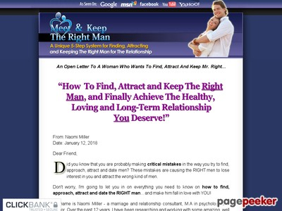 Meet & Keep The Right Man™ - How to Attract And Keep Mr. Right