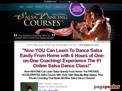 SalsaDancingCourse™ - The #1 Home Salsa Class With 6 Hours of Salsa Vi...