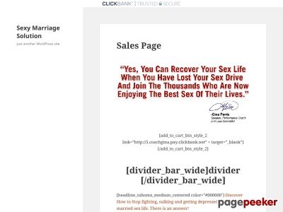 Sexy Marriage Solution – Just another WordPress site