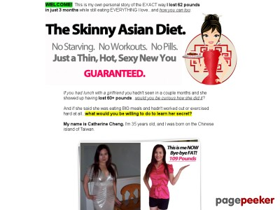 The Skinny Asian Diet - Lose weight WITHOUT working out or going hungr...