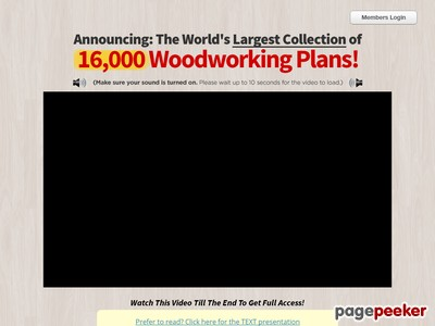 Teds Woodworking® - 16,000 Woodworking Plans & Projects With Videos - ...