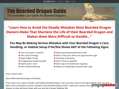 The Bearded Dragon Guide » How to Care for Bearded Dragons