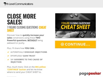 FREE TRAINING: 8 StepsTo Effortlessly Close More Sales Without Being A...