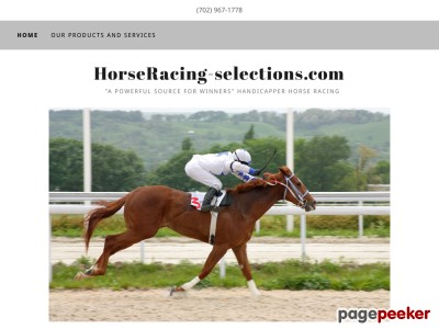 HorseRacing-selections.com - Horse Racing, Selections, Picks