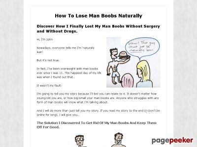 How To Lose Man Boobs Naturally
