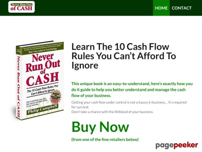 Never Run Out of Cash |