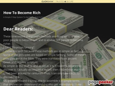 Thank you! – How To Become Rich