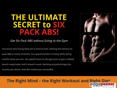The Ultimate Secret to Six Pack ABS discount - The Ultimate Secret to ...