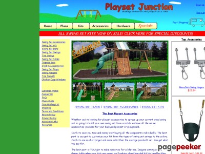 Playset Accessories| Wood Swing Sets and Swings - Playset Junction
