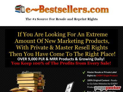 Turnkey Ebook Shop Business   Ready Made eBook Store   eBook Business ...