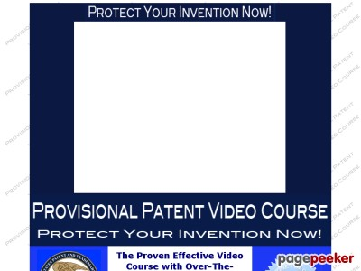 Provisional Patent Video Course