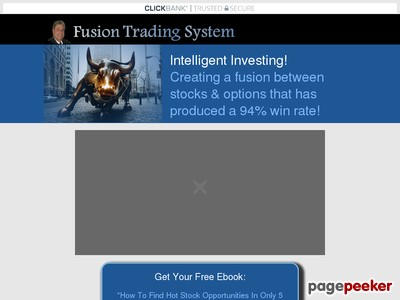 Barry Boswell's Fusion Trading System