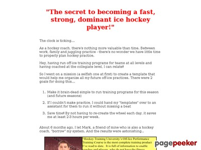 off-ice training | ice hockey training | hockey training