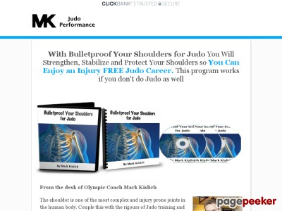 Bulletproof Shoulders For Judo