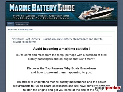 Marine battery maintenance is critical to avoid breakdowns