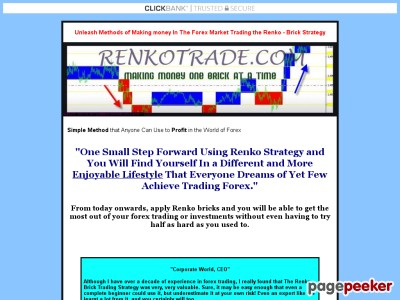 Forex Renko-brick Strategy. 50% Commision Sells Like Hot Cakes