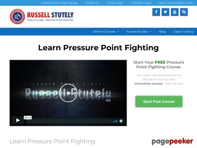 Clickbank - Online Pressure Point Black Belt Course - Learn Pressure P...