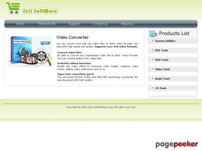 Sell Video Converter, DVD Creater, DVD Burner, Registry Cleaner, PDF C...