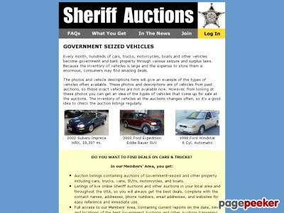 Sheriff Auctions - Motorcycles at great prices. Government Auctions.