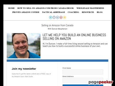 HOW TO SELL ON AMAZON from Canada CB - Selling on Amazon from Canada
