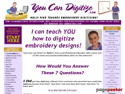 Holly Pike Will Teach You How ToDigitize Like A ProUsing Generations S...