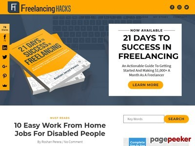 21 Days To Success In Freelancing