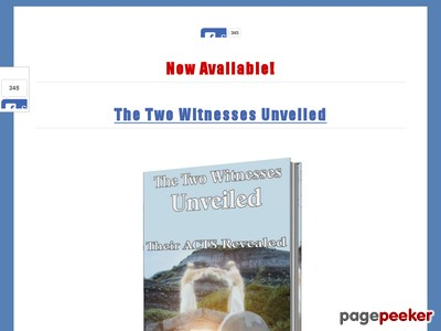 The Two Witnesses Unveiled - Their Acts Revealed