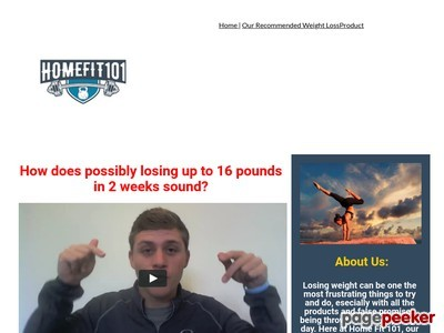 homefit101 fat loss guide sales page