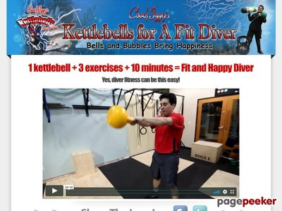 The Kettlebells For A Fit Diver System